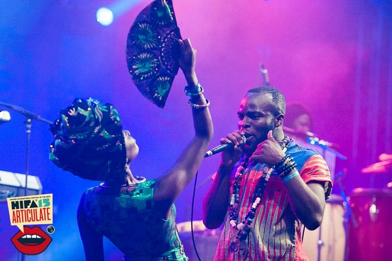 Photo Caption: Seen here performing in Harare, Zimbabawe M.anifest will bring his trademark energy and charisma to Musique en Ete Crowd in Switzerland